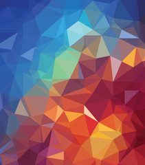 Background texture triangle geometry universe creation