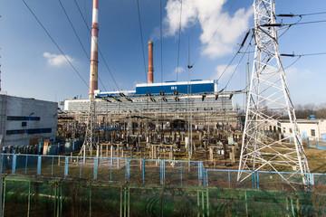 Elektrociepłownia, Łódź,