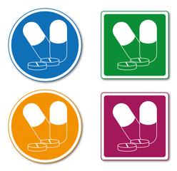 Logo médicaments.
