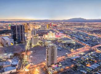 Foto op Plexiglas Las Vegas Las Vegas cityscape