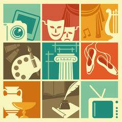 Symbols of arts