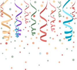 carnevale, festa, coriandoli, stelle filanti