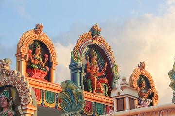 Déesse indienne temple tamoul