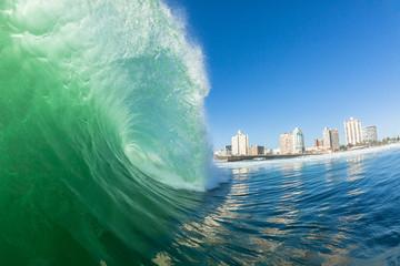 Wave Hollow Crashing Swimming Power Durban