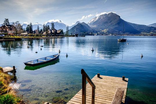 Lac d'Annecy rive est