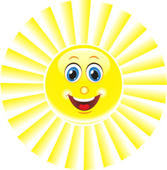 Солнце, Смайл. Символ
