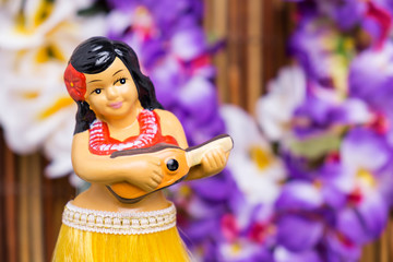 Hula Girl Doll
