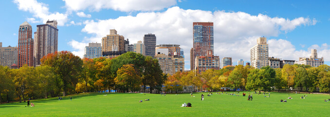 New York City Manhattan Central Park skyline panorama