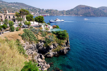 Island of Lipari, Aeolian Islands, Sicily, Italy