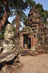 Preah Khan at Siem Reap in Cambodia