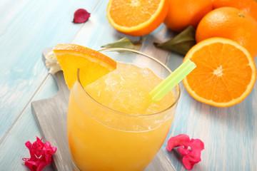 cocktail di arancia gialla