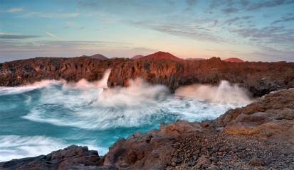 Foto auf Acrylglas Kanarische Inseln Lanzarote