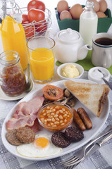 all day irish breakfast on a plate
