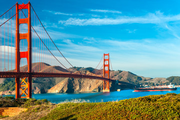 Photo sur Plexiglas San Francisco Golden Gate, San Francisco, California, USA.