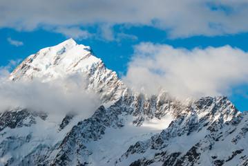 Mountains peak. Mount Cook. New Zealand