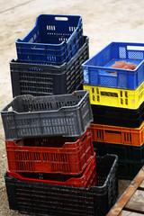 Empty crates