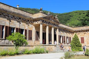Demidoff Palast auf der Insel Elba