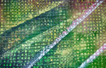 Muster abstrakt Gemälde Ölgemälde Kunstdruck