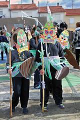 Máscaras de Carnaval, Pinofranqueado, Hurdes, Españsa