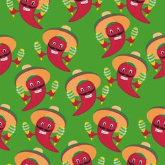 wrapping paper with the image of pepper for shops
