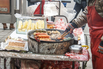 Street food in Shenyang China