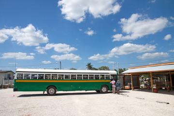 Bus station, Belize