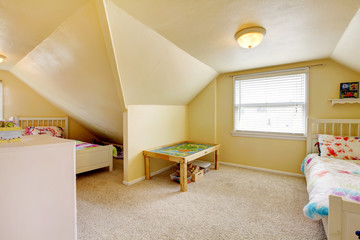 Kids room with two beds