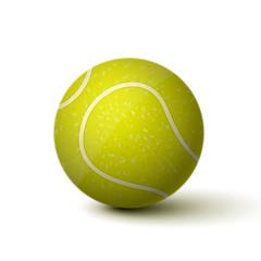 Fototapete - Realistic Tennis Ball Icon