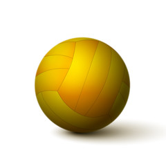 Fototapete - Realistic volleyball ball icon