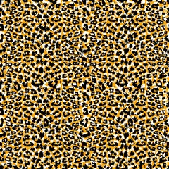 Seamless abstract animal fur pattern