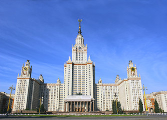 Moscow State University named after M. Lomonoso