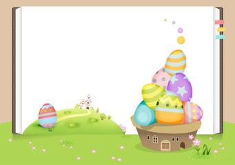 Egg frame A
