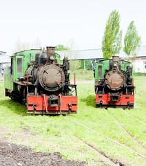 steam locomotives, Kostolac, Serbia