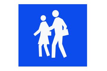 Fußgänger_Schild