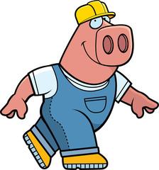 Builder Pig