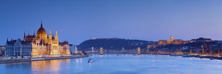 Deurstickers Boedapest Budapest.