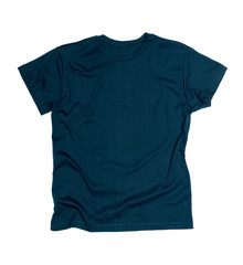 Dark blue tshirt template ready for your own graphics