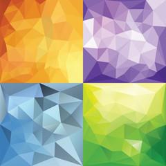 Polygonal Geometric backgrounds.