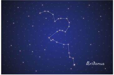 Constellation Eridanus