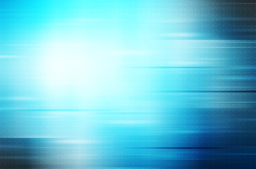 abstract lines on blue background