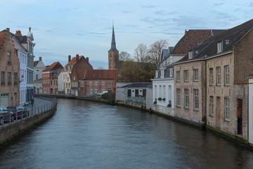 Bruges or Brugge, a  Canal