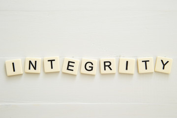 INTEGRITY word