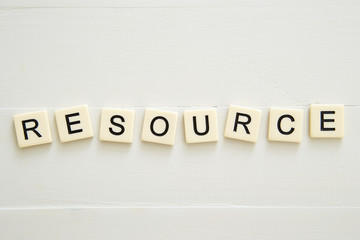 RESOURCE word