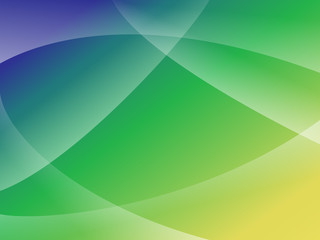 Blue Green Yellow Lines Shapes Abstract Vector Background eps10