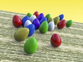 eggs on the run