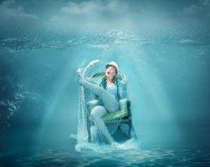 sailor crazy fish net
