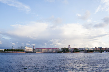 Neva river in Saint Petersburg