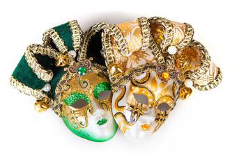 Two Venetian masks