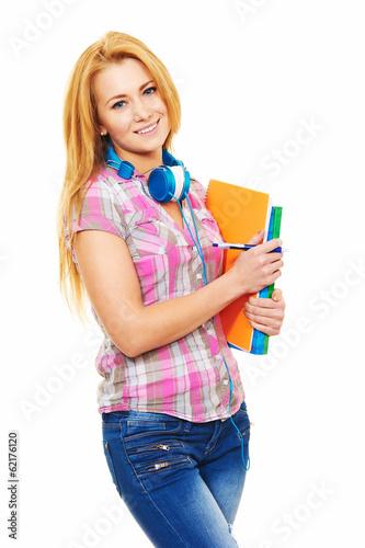 Junge Schülerin