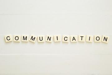 COMMUNICATION word